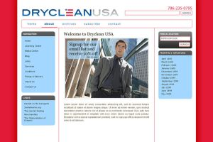 Design Mockup: Dryclean USA by cwylie0