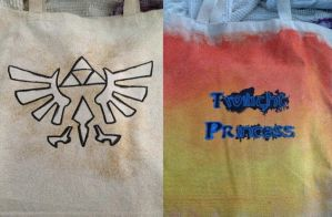 Legend of Zelda: Twilight Princess Canvas Bag by enjoytheride201