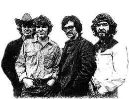 Creedence Clearwater Revival by idrawsky