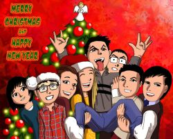 Merry Xmas and Happy New Year 2014 by shumworld