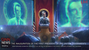 After Reset RPG illustration INAUGURATION by blackcloudstudios