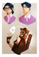 Doodling2_TF2 by GiorgiaLanza