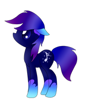 Star Note pony by MusicFireWind