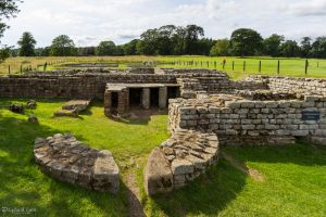 Chesters Roman Fort - Commandant's House by CyclicalCore