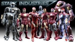 Iron Man Armors by mikeplum