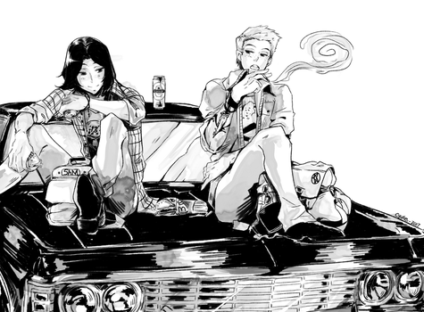 #5 Burgers After School by CYUUTE