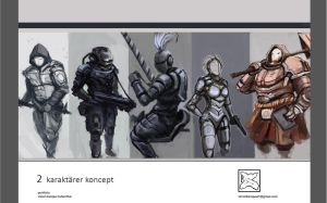 Characters Concept by SimonHK