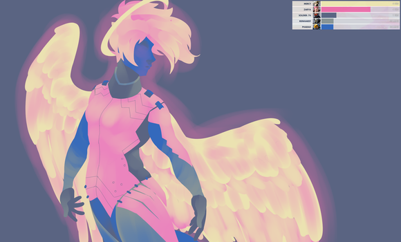 Overwatch palette challenge- Competitive by Green-lightnin