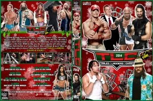 WWE TLC 2014 DVD Cover by Chirantha