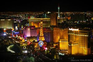 Looking Down on Sin City by ObscuraVista