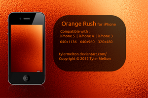 Orange Rush for iPhone by TylerMelton