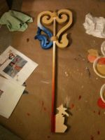 Kairi's Keyblade in Progress: The Other Side by TheLegendofEevee