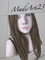 MadiArt23 Portrait Request by Visualiart