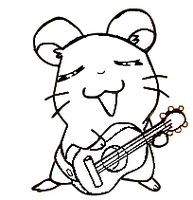 Guitar Hamster Base by stormthehedgehog1