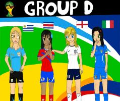 Worldcup Brazil 2014 Group D by SILENTWARRIOR3800