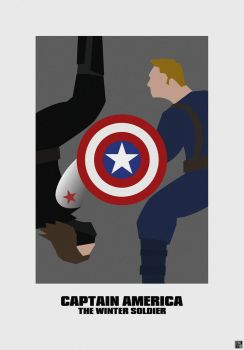 Captain America: The Winter Soldier by HerrOwley