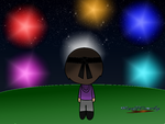 Fireworks with Robby by RuffCarly