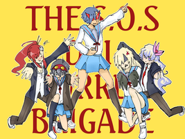 THE SOS DAI GURREN BRIGADE by Fuocofuu