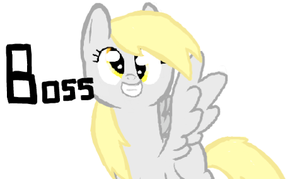 Derpy is BOSS!!! by SoulCats