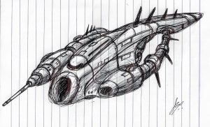 """Insipid"" Frigate WIP by Inquisitor-No-7"