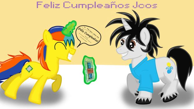 Feliz cumple Jcos! 2016 by prossesor