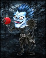 Ryuk - the apples are juicy - by Giosuke
