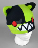 Insanity Kitty Hat by SewDesuNe