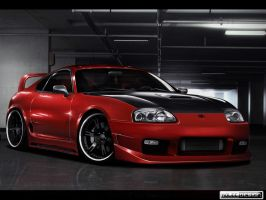 Toyota Supra by roleedesign