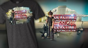 Call Of Duty (w/ TBNRfrags) - T-Shirt by FinsGraphics