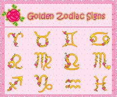 Zodiacs - Free Avatars Pack by r0se-designs