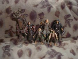 My Lord of the Rings Toys by Flame22