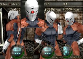 Gray Fox In resident evil 4 1 by Zerofrust
