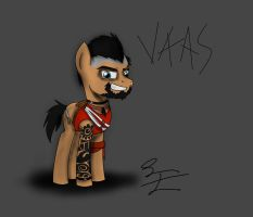 Vaas Pony by LBFable