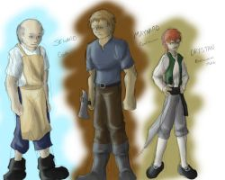 Pirates - group 3 by dragonsong12