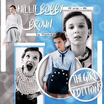 Millie Bobby Brown Photopack Png by TheGirlEditions