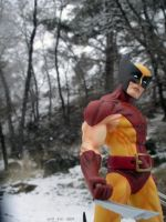 Wolverine in the Woods - 80s by SurfTiki
