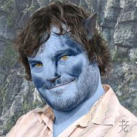 Jack Black Na'vi by catnmaus