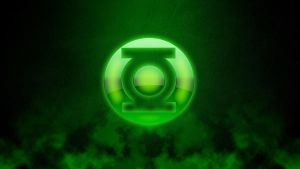 Green Lantern Logo Crystal by marcosba