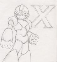 Mega Man X by Banane-chan