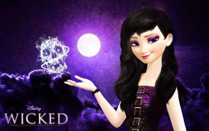 Dark Elsa: Wicked by wolfskyla