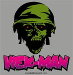 Viek-Man, the God of the Rock war! by DarkModex