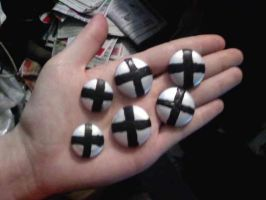 New and improved Maka Buttons by Nikki-Kitten1213