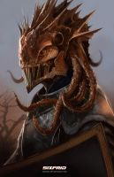 Medieval Creature by sixfrid