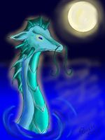 water dragon by Princess-Shannen