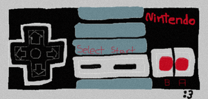 NES Controller doodle :3 by elfofcourage