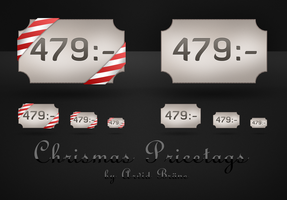 Christmas Pricetags by Arvid23