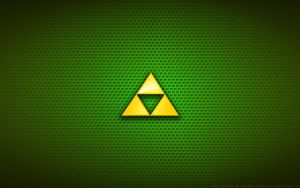 Walpaper - The Legend Of Zelda 'Triforce' Logo by Kalangozilla