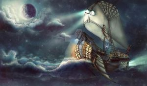 Baron Munchausen Adventures by Anuk