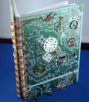 Steampunk Circuitboard book by Ljtigerlily