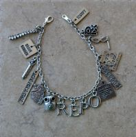 Repo! The Genetic Opera Charm Bracelet by kittykat01